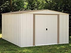 10' x 12' Steel Storage Shed