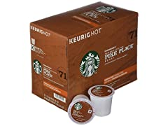 Starbucks Pike Place Roast, K-Cup, 24 Ct