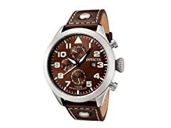 Invicta Men's Watch, Brown/Brown