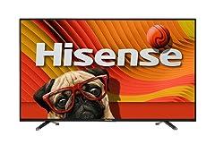 """Hisense 55"""" LED 1080P Smart TV"""