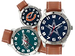 NCAA, NBA, NFL & NHL Watches