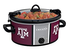 Crock Pot 6 QT Collegiate Cook & Carry Crock Pot