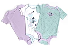 Disney Cuddly Bodysuit - 3 Pack