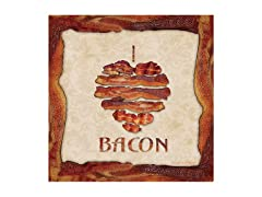 I Love Bacon Coasters- Set of 4
