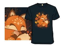 Sleepy Autumn Fox