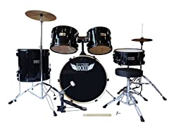Stage Rocker Full Drumset w/ Cymbals & Hardware