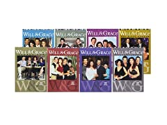 Will & Grace Seasons 1-8 Bundle Pack DVD