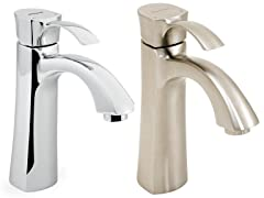 Tiber Single Lever Bathroom Faucet