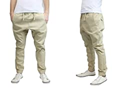 Men's Cotton Twill Joggers