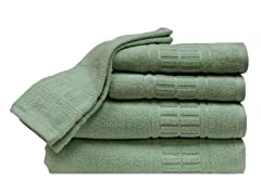 Zero-Twist Quick Dry 6Pc Set-Sage
