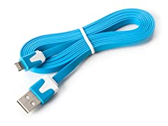 6ft Flat USB Cable for iP5, iPad Mini