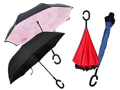 Swisstek Reverse-Folding Umbrella