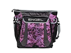 Engel Pink Out Camo Backpack Cooler