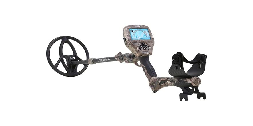 metal detector with gps