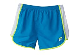 Girls Solid Primo Short - Atomic Blue