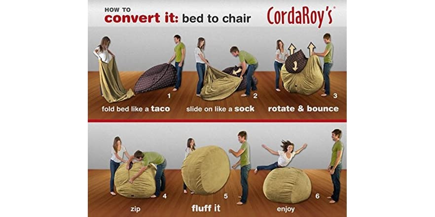 Cordaroy S Chenille Bean Bag Chair Full
