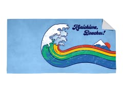 """Konichiwa!"" Beach Towel"