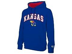NCAA Men's Hoodie Kansas
