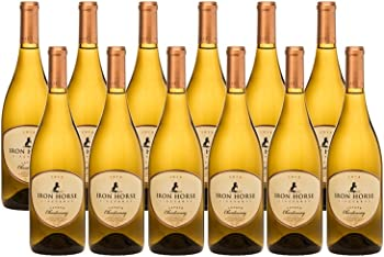 12-Pack Iron Horse Estate Chardonnay Case