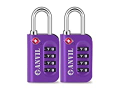 TSA Approved Luggage Lock 2 pack