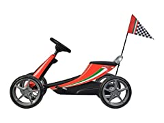 Best Ride On Cars Ferrari Pedal Go Kart Red