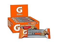 Gatorade Protein Bars Choc Pretzel, 12ct