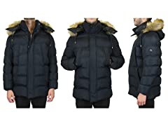 Men's Tech Parka with Detachable Hood