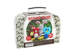 CraftLab Woodland Animals Craft Educational Sewing Kit