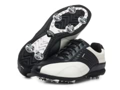 Women's Corina Golf Shoes, White/Black