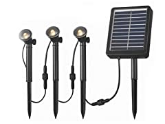 Solar Spotlight 3 Light String