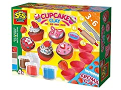 Super Clay Cupcakes Set with Aroma Clay