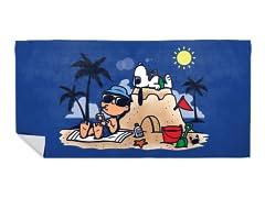 """""""Beach Nuts"""" Beach Towel"""