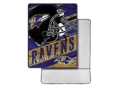 Baltimore Ravens Foot Pocket Throw
