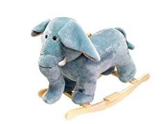 Elephant Plush Rocking Animal