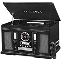 Victrola Aviator 8-in-1 Bluetooth Record Player & Center