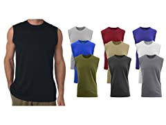 Mens 5Pack Assorted Muscle Tank Tee