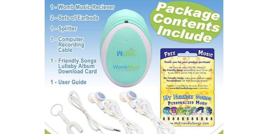 Wusic Womb Music Heartbeat Baby Monitor Kids Amp Toys