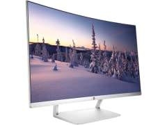 "HP 27"" Curved LED Monitor"