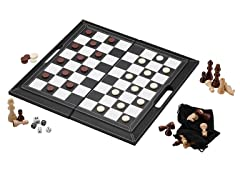 Mainstreet 3-in-1 Leatherette Game Set