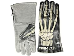 Bones Graphic Welding Gloves XL