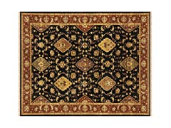 Izmir Collection Rug Black/Red