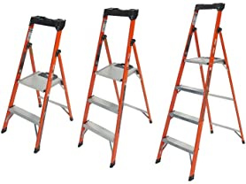 Little Giant Quick-N-Lite Fiberglass Stepladders