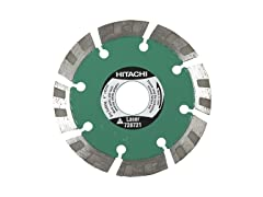 "Hitachi 4"" Turbo Diamond Saw Blade"