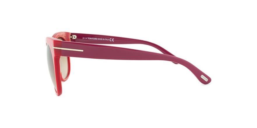 6136a3f2151 Tom Ford Saskia Oval Sunglasses