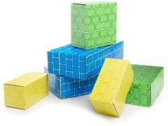60-Piece Cardboard Blocks