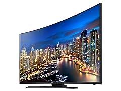"""Samsung 55"""" 4K Curved LED Smart TV"""