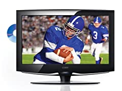 """Coby 26"""" 720p LCD TV/DVD Combo"""