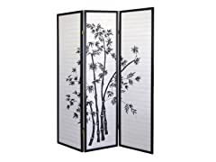 ORE 3-Panel Room Divider - Bamboo