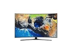 """Samsung 65"""" Class MU7600 4K UHD TV"""