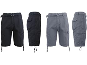 GBH Men's Cargo Shorts 2-Pack